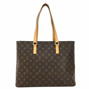 Louis Vuitton Monogram Luco Shoulder Tote Bag